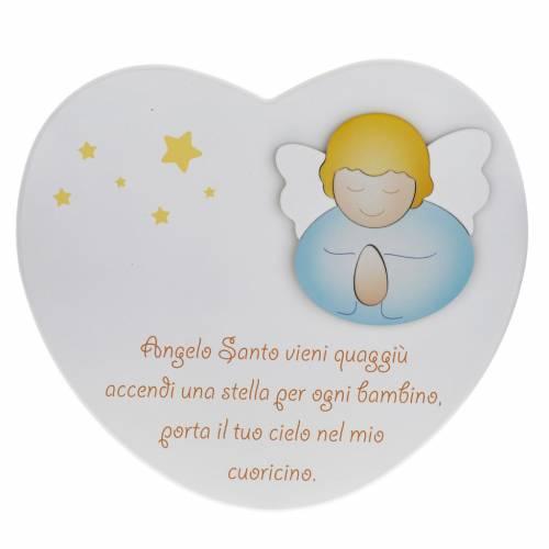 Corazón cántico Ángel Santo Azur Loppiano s1