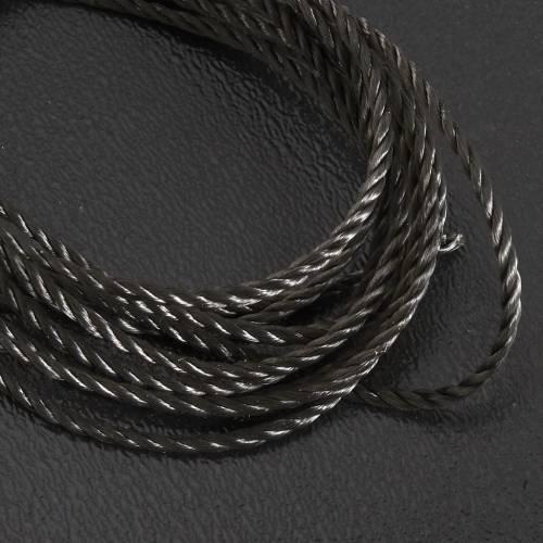 Corda nera per rosari fai da te s2
