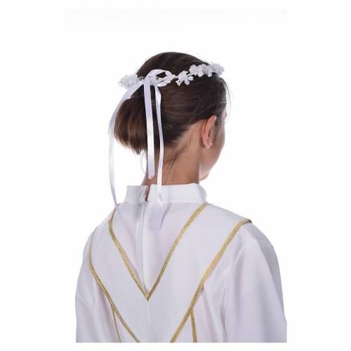 Corona floral para vestido de la Primera Comunión s3