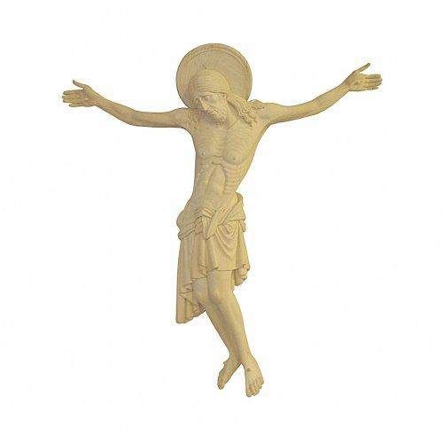 Corpo di Cristo Cimabue legno Valgardena naturale s1