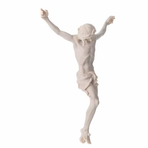 Corps Christ 37 cm poudre de marbre fin. neutre s7