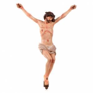Corps du Christ terre cuite h 45 cm style Napolitain s1
