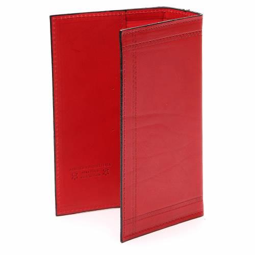 Couverture Lit. Heures vol. unique Ancre Salut cuir rouge s3