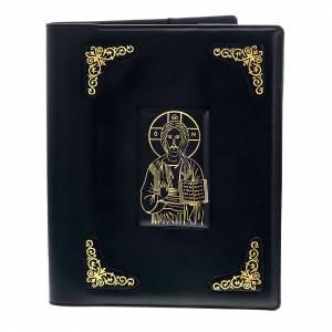 Couverture missel romain noire, imprimé en or s1