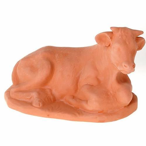 Crèche en terre cuite 5 figurines 50 cm s3