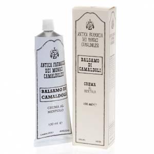 Produits curatifs et soignants: Crème au Menthol, baume de Camaldoli