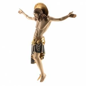 Cristo de madera pintado Cimabue Val Gardena s7