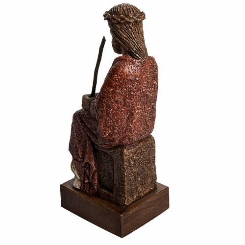 Cristo oltraggiato 39 cm pietra Pirenei s3