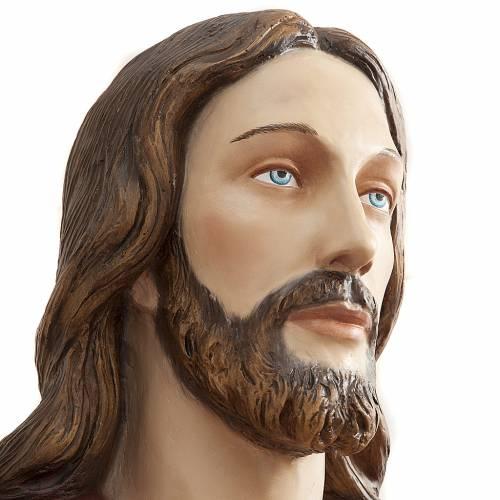 Cristo Redentore 200 cm vetroresina s8