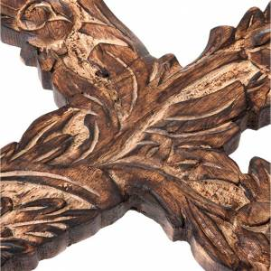 Crocifisso legno scolpito s3