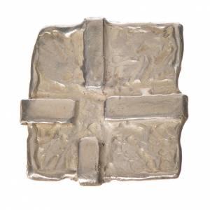 Croix argent 925 carrée s1