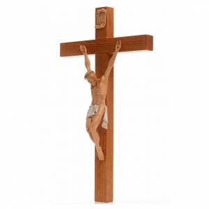 Crucifix bois Chris pvc 30x17 cm Fontanini s3