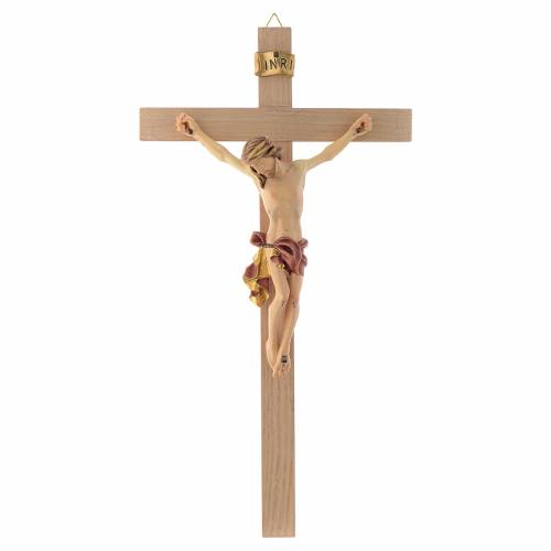 Crucifix Christ with red and gold vest s1