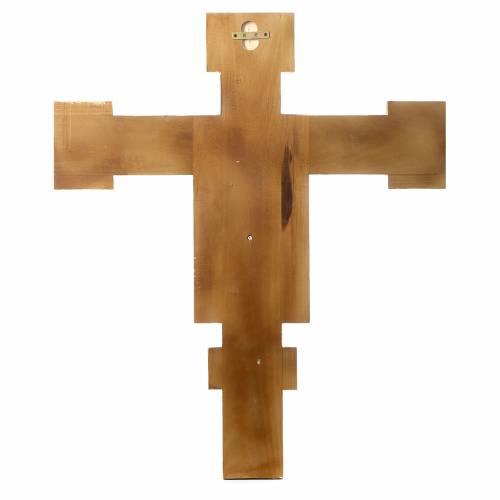 Crucifix Cimabue en bois peint s4