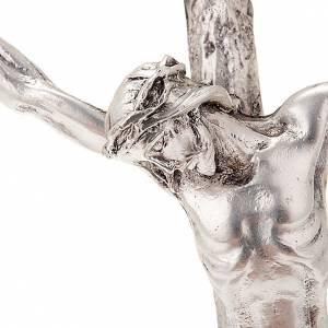 Crucifix en métal: Crucifix de Jean Paul II avec suport