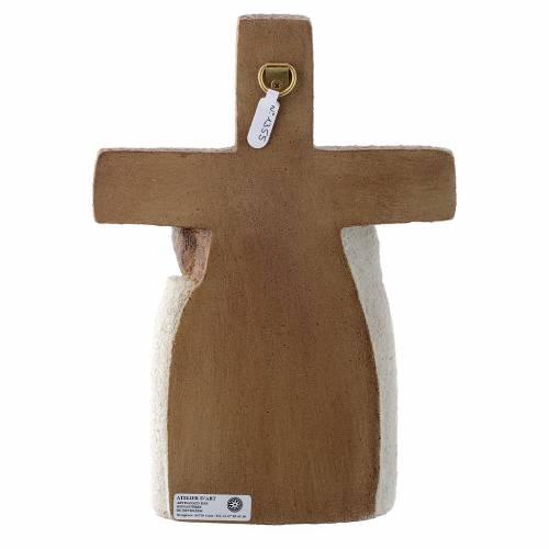 Crucifix en pierre, la compassion s4