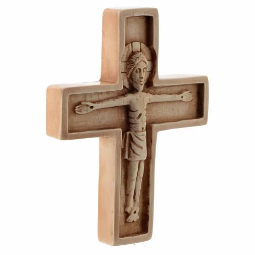 Crucifix ivoirine moyen pierre Bethléem s3