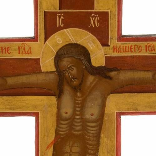 Crucifix ortodoxe ancien, XIX siècle s8