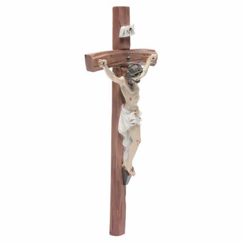 Crucifix résine 29x13 cm s3