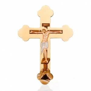 Íconos en cruz: Cruz perfilada, ícono pintado Grecia