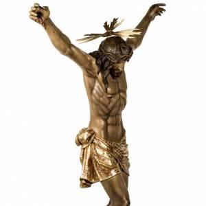 Cuerpo de Cristo muerto 160cm pasta de madera, acabado extra s10