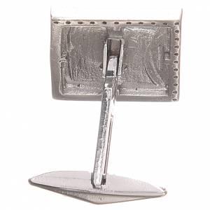Cufflinks for shirts, Silver 800 Agnus Dei 1,7x1,7cm s2