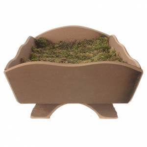 Culla legno muschio per bambino 85 cm Fontanini s3