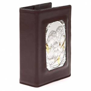 Custodia Bibbia Ger. magnetica S. Fam. metallo t. di moro s4