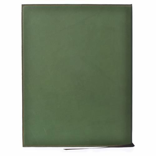 Custodia portariti A4 croce impressa verde Bethléem s2