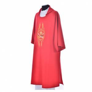 Dalmatica 100% poliestere Stemma Francescano s5
