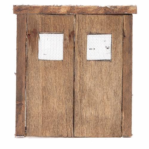 Door for nativity 15x13cm s3