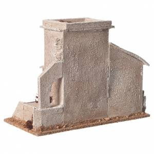 Double minaret for nativities measuring 13x20x10cm s4