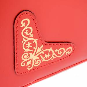 Deckel für Messbücher: Einband Roemisch Messbuch rot
