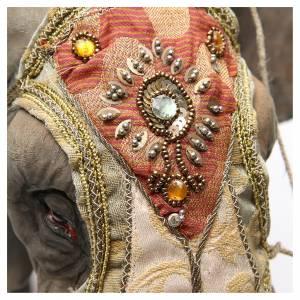 Elefante con Rey y siervo belén Angela Tripi 30 cm s7