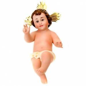 Enfant Jésus en plâtre s1