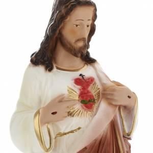Estatua Sagrado Corazón de Jesús 30 cm. yeso s2