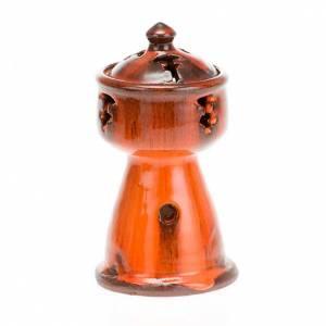 Incense burners: Ethiopian coloured incense-burner