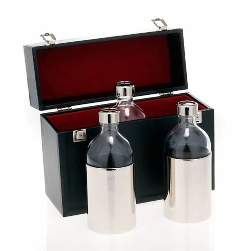 Etui rigide pour huiles sacrées 3 vases 500 cc s1