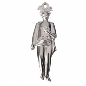 Ex-Voto: Ex-voto, child in sterling silver or metal, 12.5cm