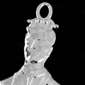 Ex voto homme argent 925 ou métal  21 cm s3