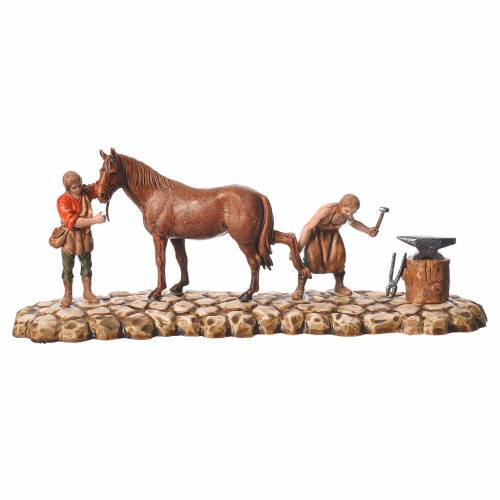 Farmers figurines 6cm, Moranduzzo, 2 pcs s2