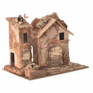 Farmhouse for nativities 20x16x15cm, assorted models s2
