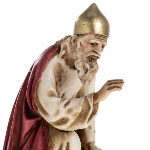 Figurines for Landi nativities, three Wise Kings 11cm s3