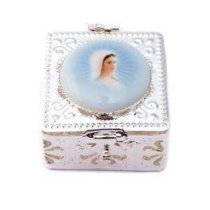 Filigree porcelain square box s3