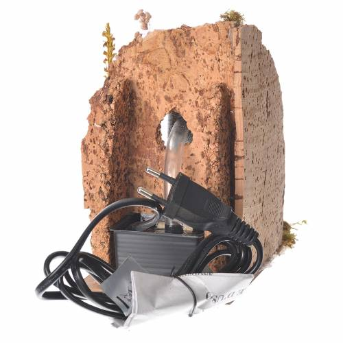 Fontana nasone presepe 16x10x15 cm s3