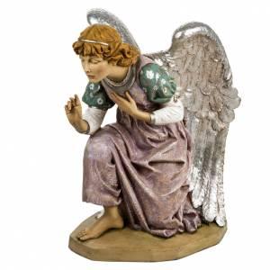 Krippenfiguren: Fontanini Engel auf den Knien 125 cm