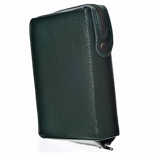 Funda Biblia CEE grande verde simil cuero Pantocrátor s2