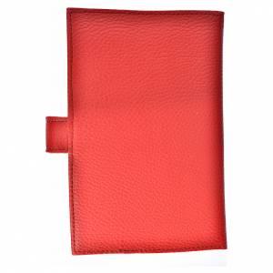 Funda Biblia CEE grande Virgen simil cuero rojo s2