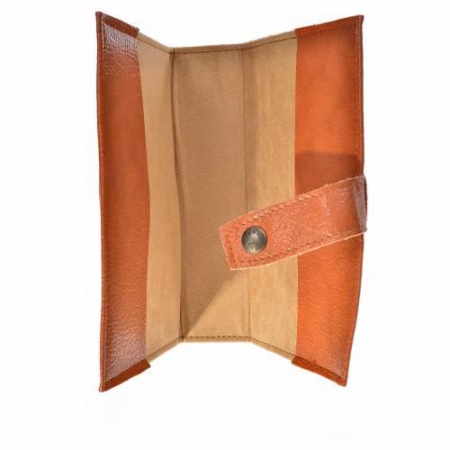 Funda Sagrada Biblia CEE ED. Pop. simil cuero marrón Virgen Niño 3