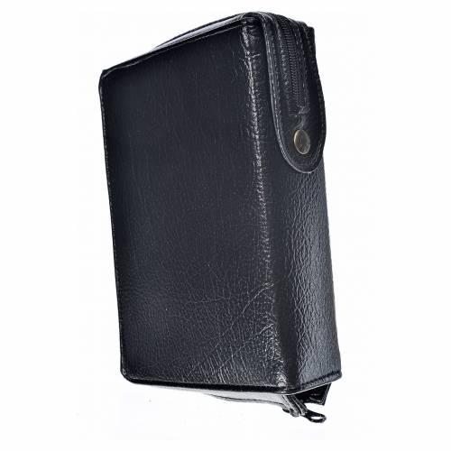 Funda Sagrada Biblia CEE ED. Pop. simil cuero negro Virgen Tern s2